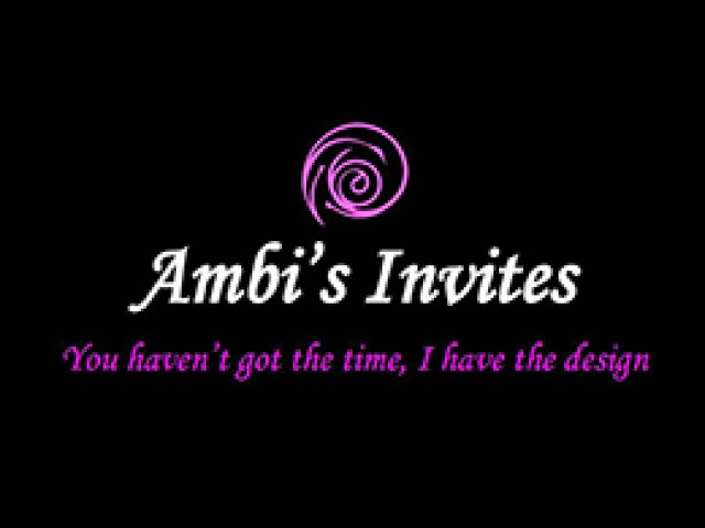 Ambi's Invites